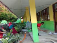 Goro Persiapan Belajar Tatap Muka di MTsN 13 Tanah Datar