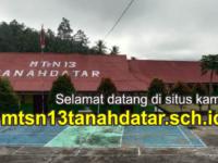 MTs Negeri 13 Tanah Datar Launching Website Resmi