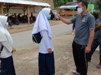 Belajar Tatap Muka Minggu Ketiga di MTsN 13 tanah Datar Berjalan Lancar