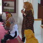 Tim Puskesmas  Sosialisasikan Vaksin  Anak usia 7-12 tahun di MTsN 13 Tanah Datar