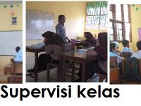 Kepala Madrasah Laksanaan Supervisi kelas Bagi Guru MTsN 13 Tanah Datar